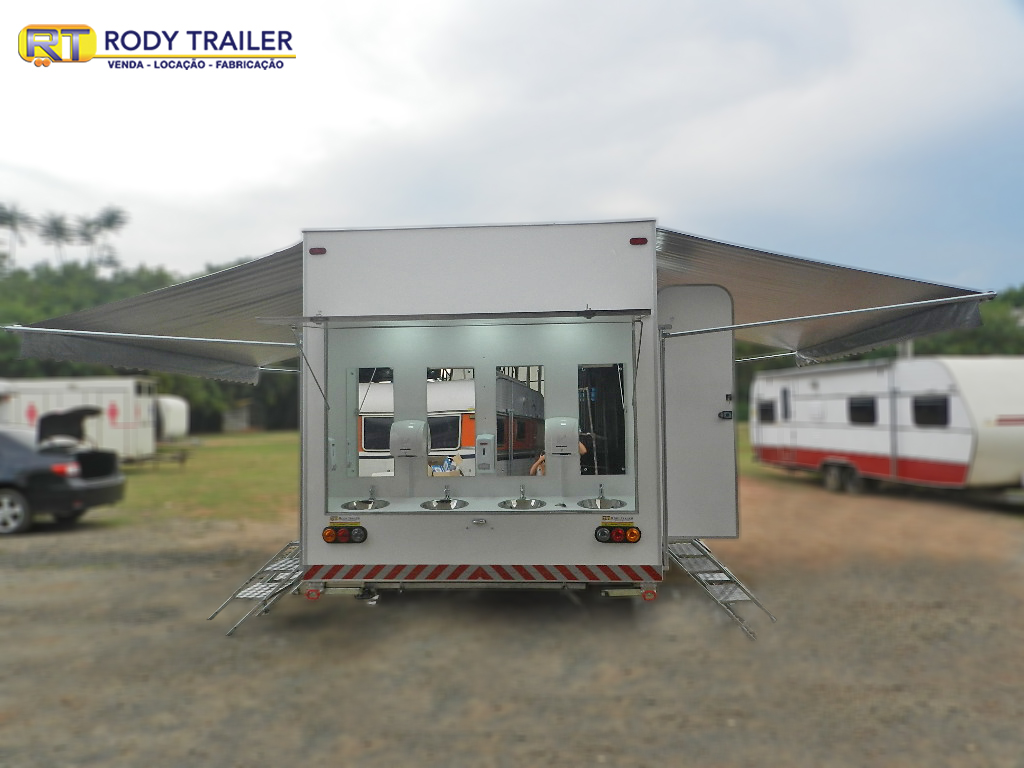 Rody Trailer - RT 500 – 10 Sanitarios